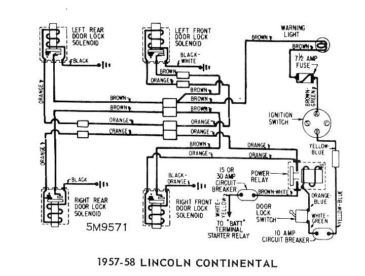 Ford F F Ignition C Starting C Charging C And Gauges Wiring Diagram likewise Lincoln Continental Door Locks besides Fordream besides Mwire further Cadillac Windows Wiring Diagram. on 1956 ford thunderbird wiring diagram