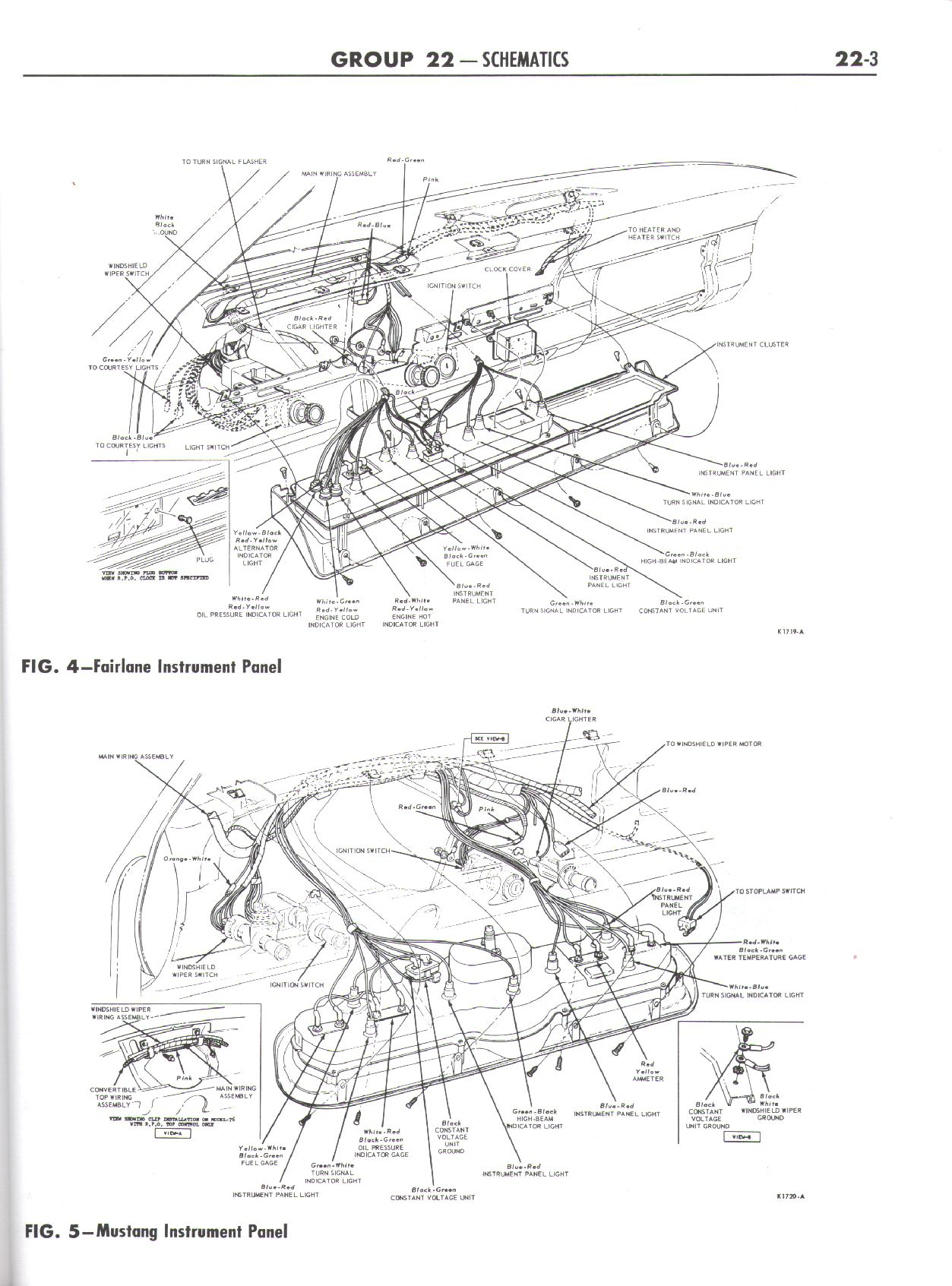 1965 ford wiring diagram falcon diagrams  falcon diagrams