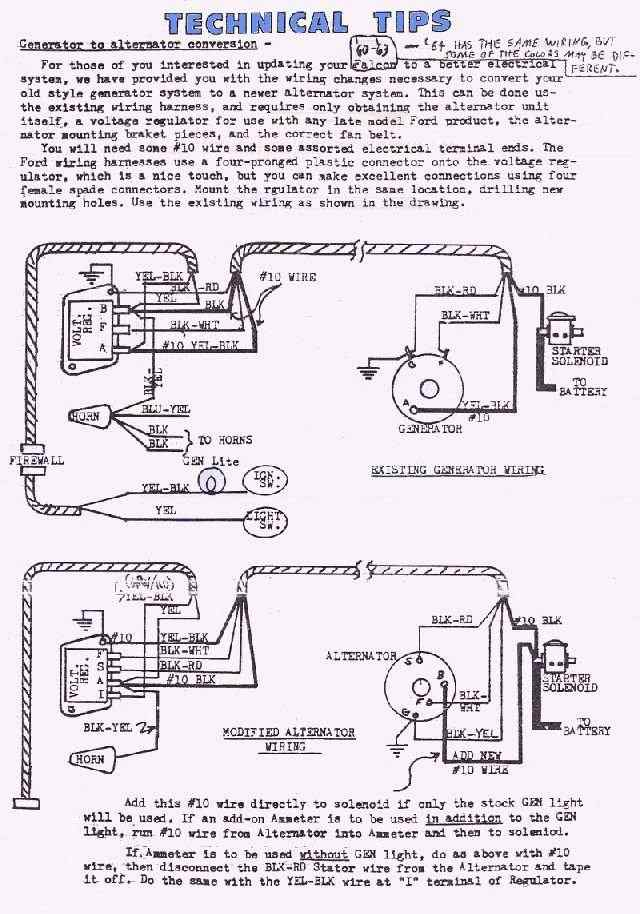 1961 ford falcon wiring diagram ford diagrams 1961 ford generator wiring diagram